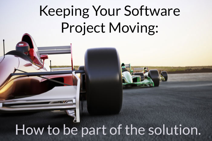 keeping Your Software Project moving