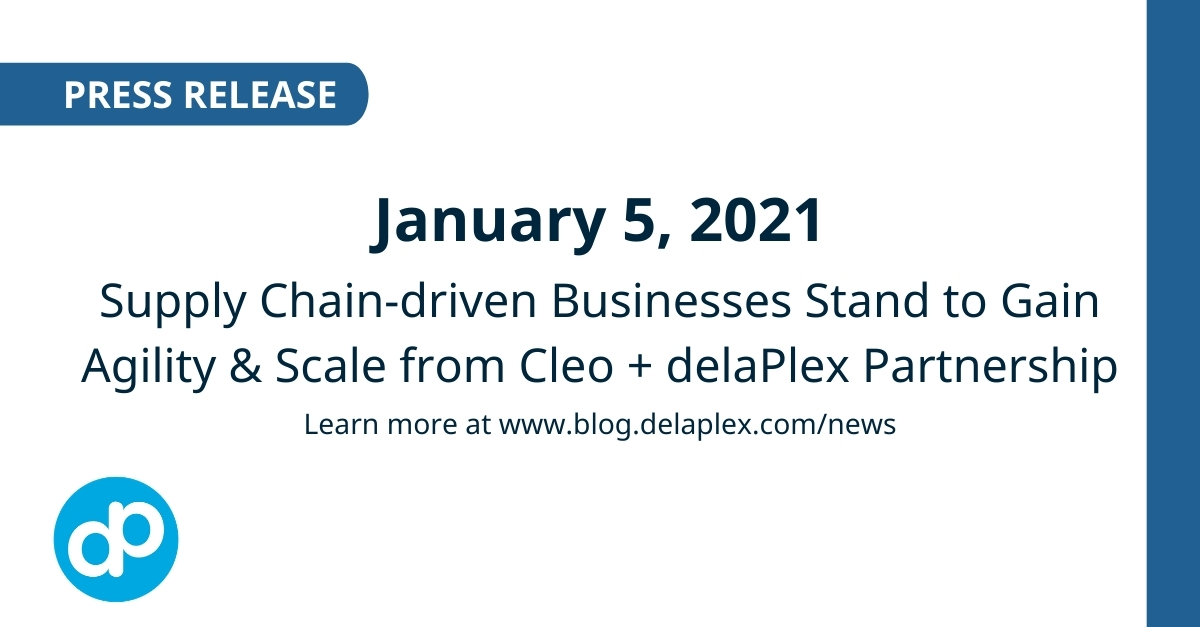delaPlex_Cleo_Partnership_Press_Release